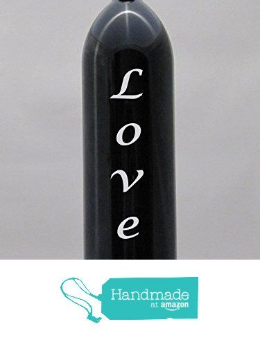 Miron Glass Water Bottle LOVE Lucida Font Design Sandblasted Engraved Etched 1 Liter With tamper proof cap. from Algrium Engraving & Jewelry https://www.amazon.com/dp/B016TPRYFI/ref=hnd_sw_r_pi_dp_rYxExbT0ECFX3 #handmadeatamazon