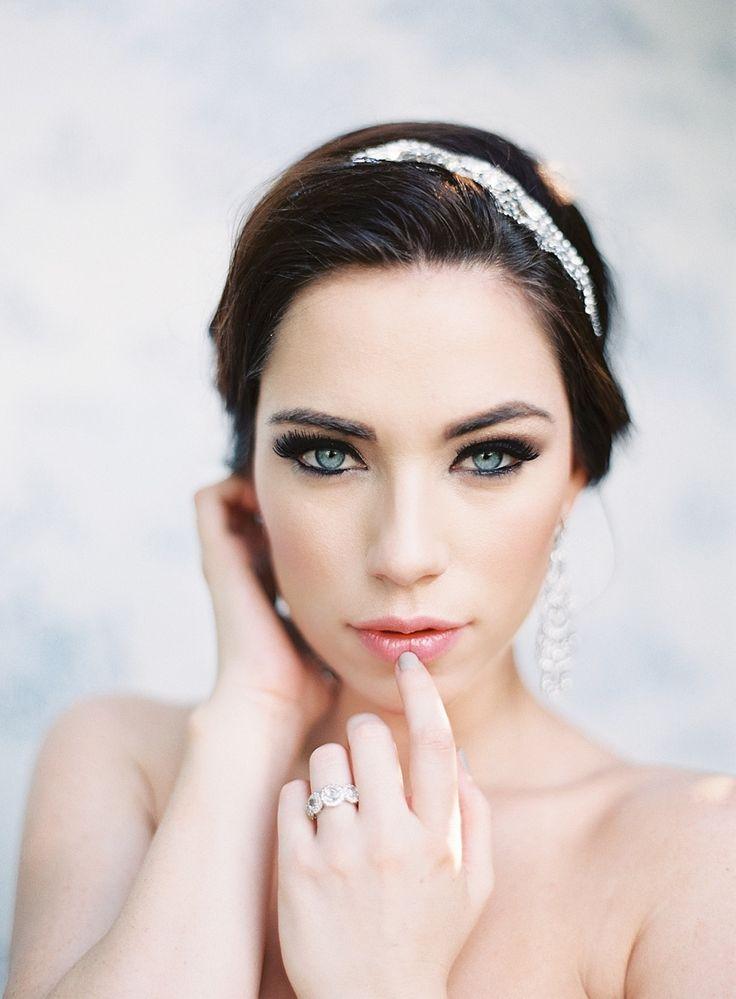 Photography: Marissa Lambert   marissalambertphotography.com Makeup: Melissa Vaccaro   www.ashleysievert.com/ Wedding Dress: Monique Lhuillier   moniquelhuillier.com   View more: http://stylemepretty.com/vault/gallery/22727