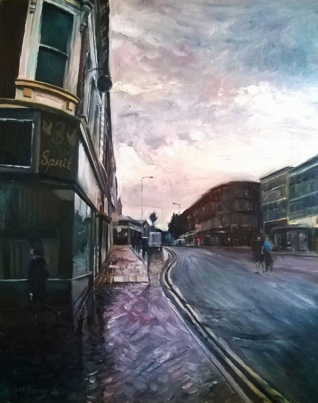 New painting Wakefield The Springs Rain.