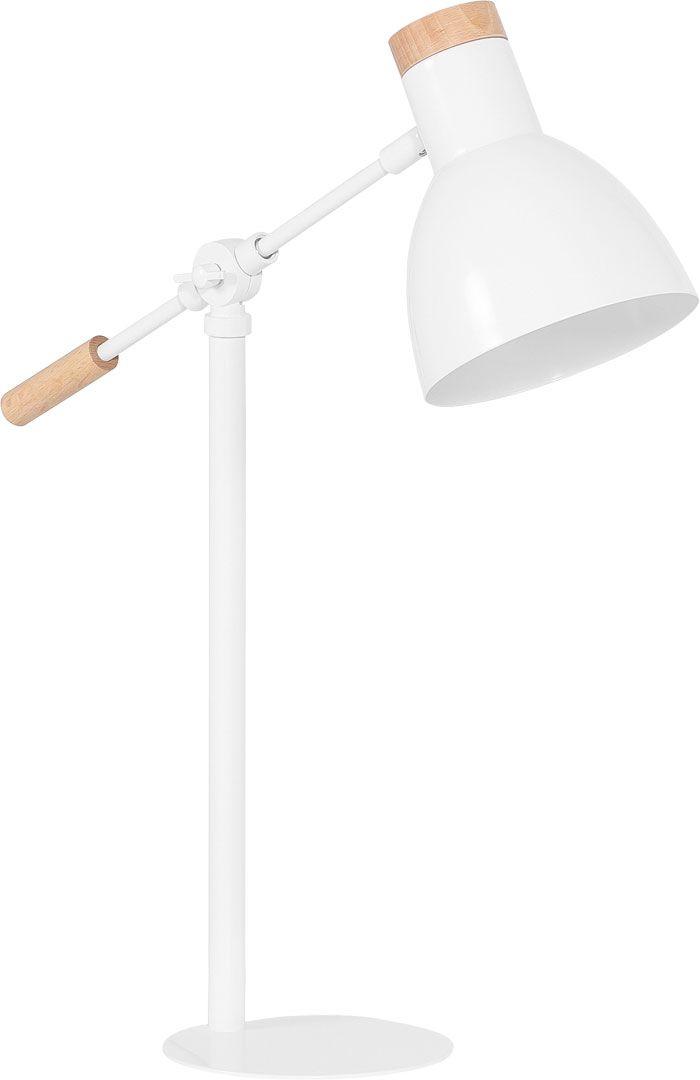 Lampa komodowa Lige biała (Biały, Czarny) - Lampy - Artykuły Dekoracyjne - Wnętrza VOX