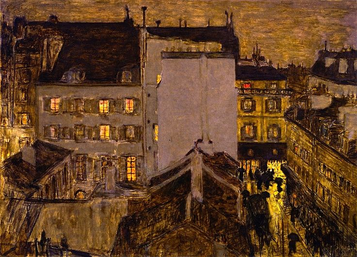 Rue Tholozé / Pierre Bonnard - 1897: