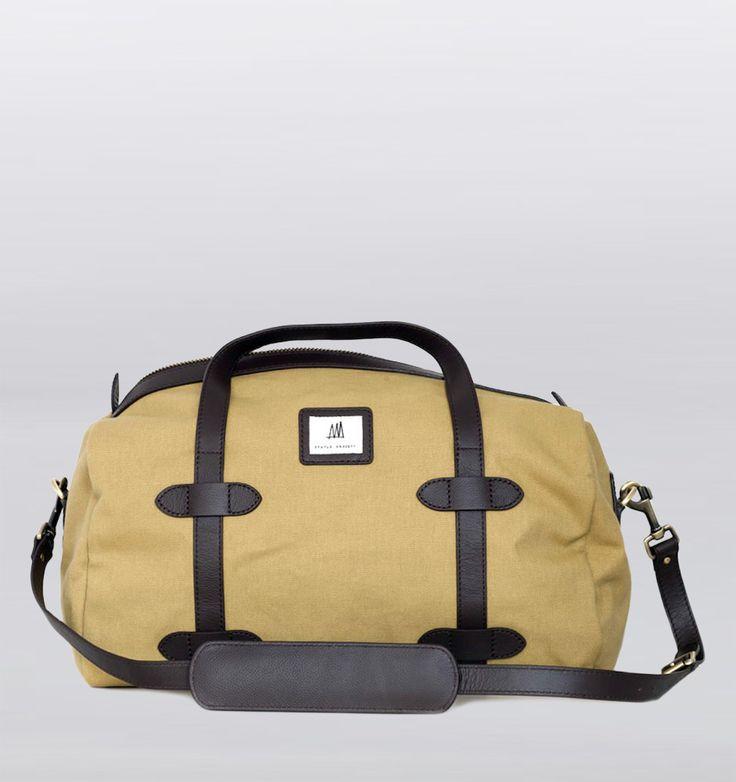 Rushfaster.com.au - Status Anxiety Runaway Traveler Duffle Bag - Tan