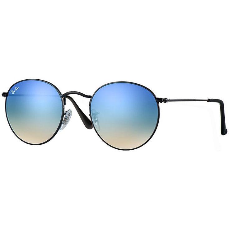 Acquista i fantastici occhiali RAY-BAN RB3447 002/40 50 ROUND FLASH LENSES…