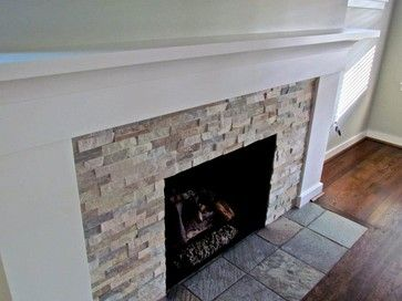 Beachwalk Slate Fireplace Ledgestone