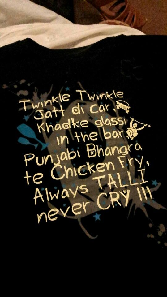 Punjabi vibes...