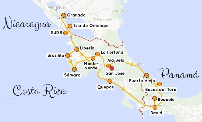 Alles Wichtige zur Planung Deiner Backpacking Rundreise in Costa Rica, Nicaragua, Panama | Reiseroute, Reisetipps & Informationen