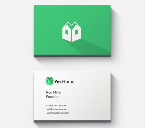 Business Card design for Yes Home