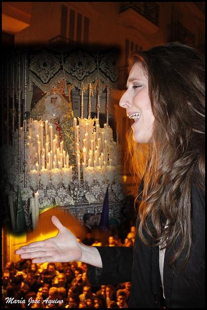 Saeta by MJ.HUELVA.  Gente que le canta a la virgen                                                                                                            Saeta             by        MJ.HUELVA      on        Flickr: Photo