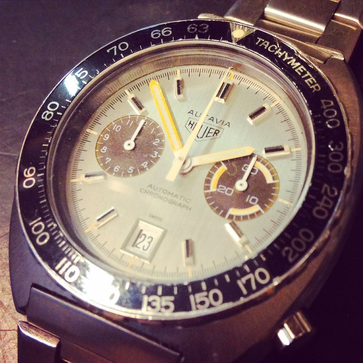 Heuer Carrera with tropical sub-dials!