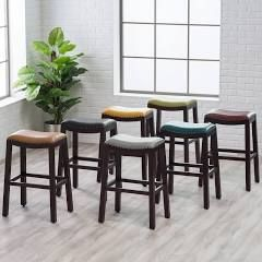 Belham Living Hutton Backless Bar Stool Teal - RH15006-TB