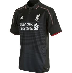 Wear your colors all season long and support your favorite team in the league in the New Balance® Men's Liverpool 2015 Replica Third Jersey.
