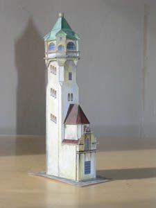 FYRAR av PAPPER Lighthouses in paper