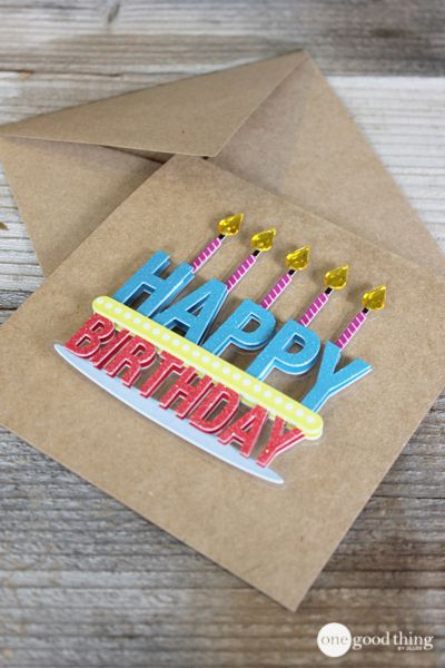 Make Your Own Greeting Cards In Less Than 30 Seconds Jillee