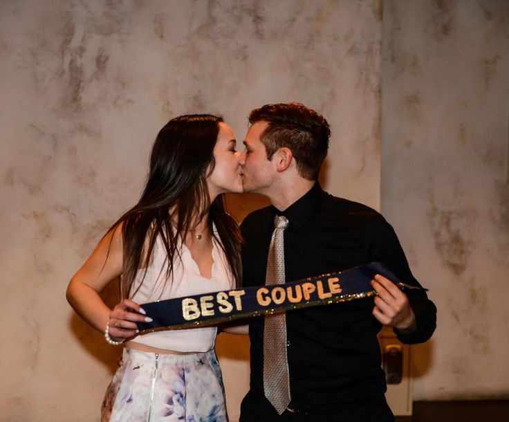 This year's Best Greek Couple: Georgia and her #PhiKappaPi man Darren.