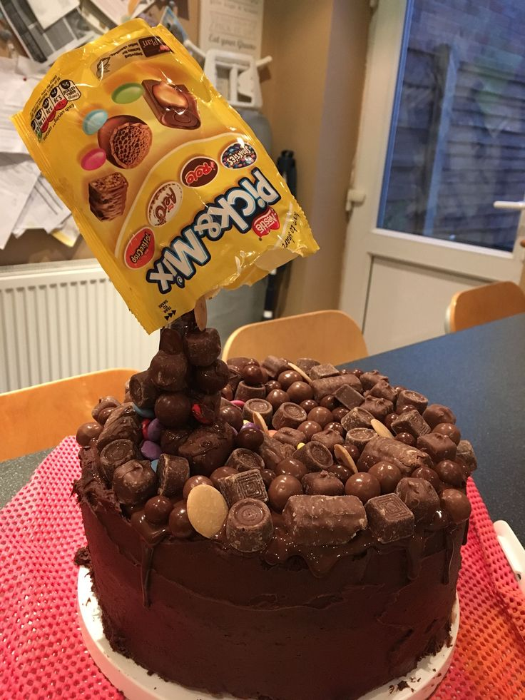 Chocolate overload cake! Made for my sisters 40th!