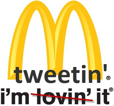 McDonalds - making a hash of hashtags?