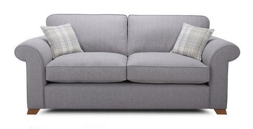 Rupert 3 Seater Formal Back Sofa Bed Rupert   DFS