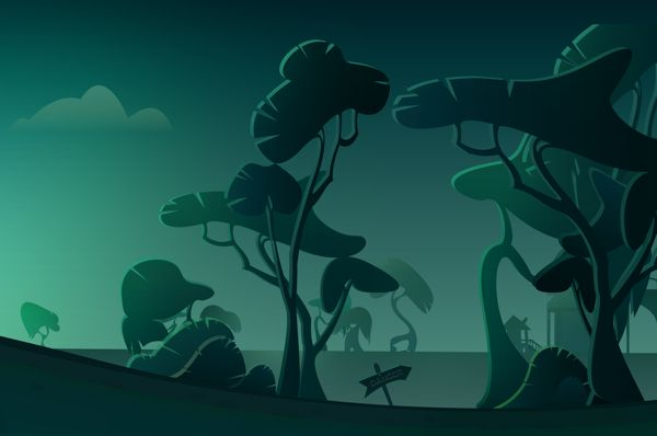 The end of the road by Martina Crepulja, via Behance