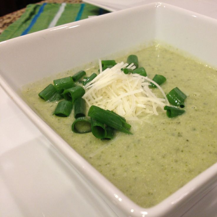 Cream of Kale and Cauliflower Soup