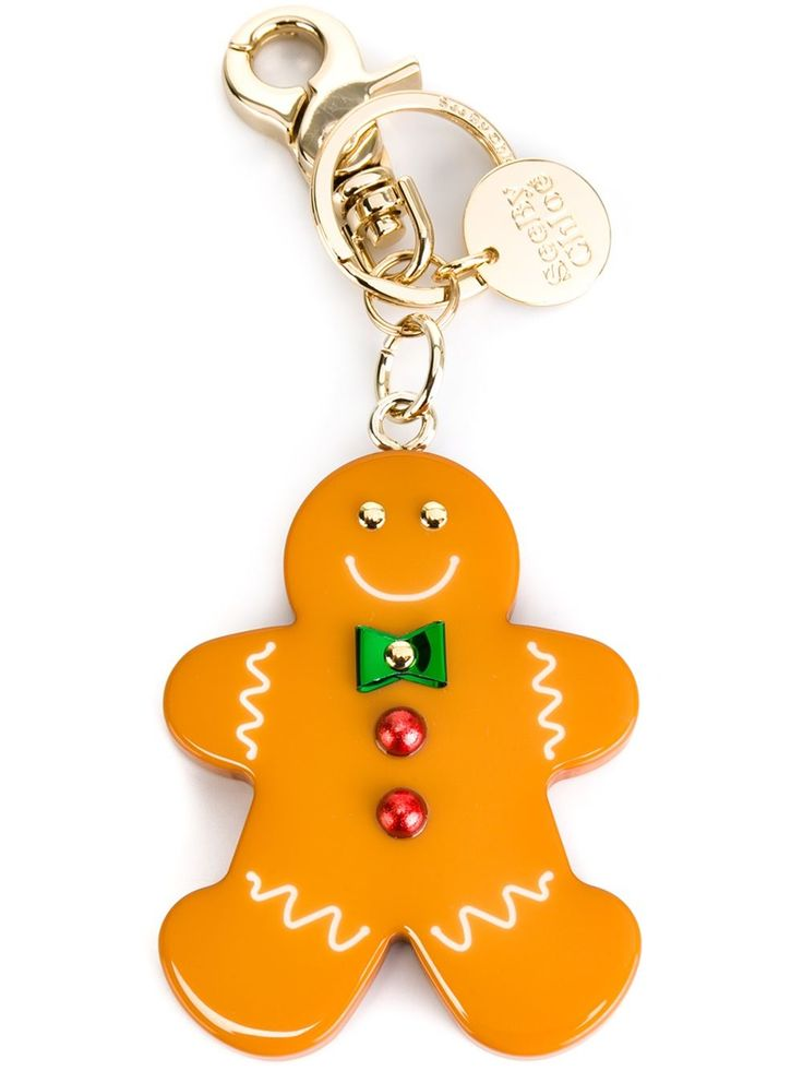 See By Chloé Gingerbread Man Keyring - Smets - Farfetch.com