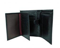 Luxusná kožená peňaženka vyrobená z prírodnej kože. Kvalitné spracovanie a talianska koža (3)