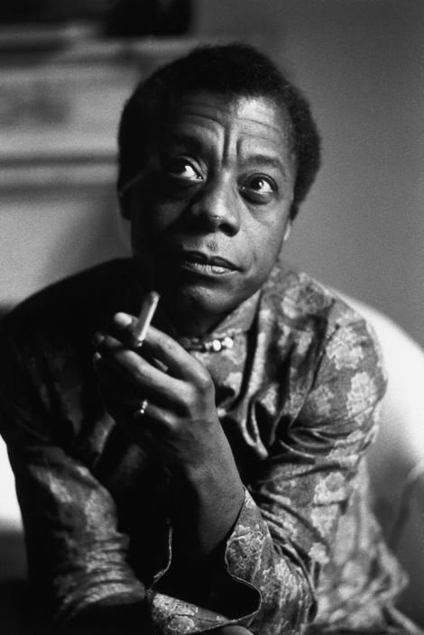 """I am what time, circumstance, history have made of me, certainly, but I am also, much more than that. So are we all."" James Baldwin, 1963, uncredited photo."