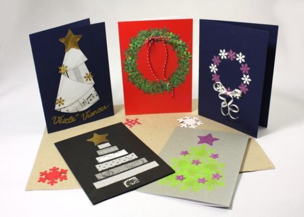Fotopostup a inšpirácie na vianočné pohľadnice, Tvorenie z papiera, fotopostup - Artmama.sk