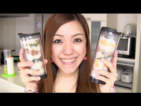 Using a tumbler as a bento box is popular among young people in Japan. My darling found this trend in the newspaper and asked me to make one for him.    So, in this video I will show you some of the easy bento ideas that you might what to try in a busy morning :D    Make sure you don't pack the foods that easily spoil! And when the weather is hot, p...
