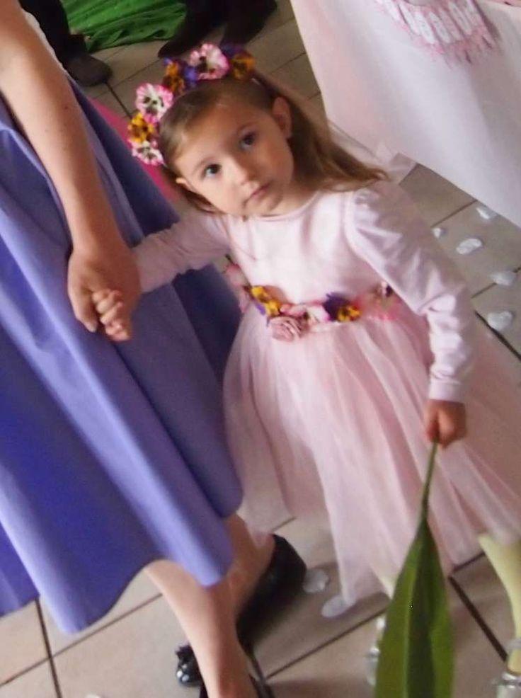 Flower Fairy 3rd Birthday Feast | CatchMyParty.com