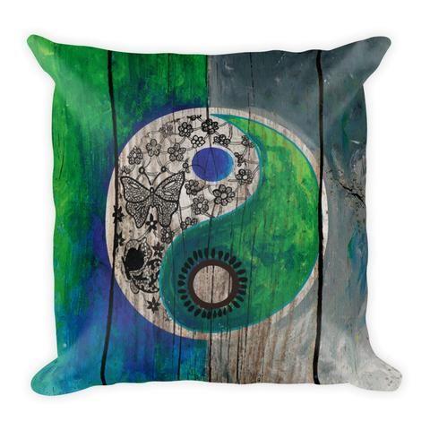Woody Yin Yang - Pillow