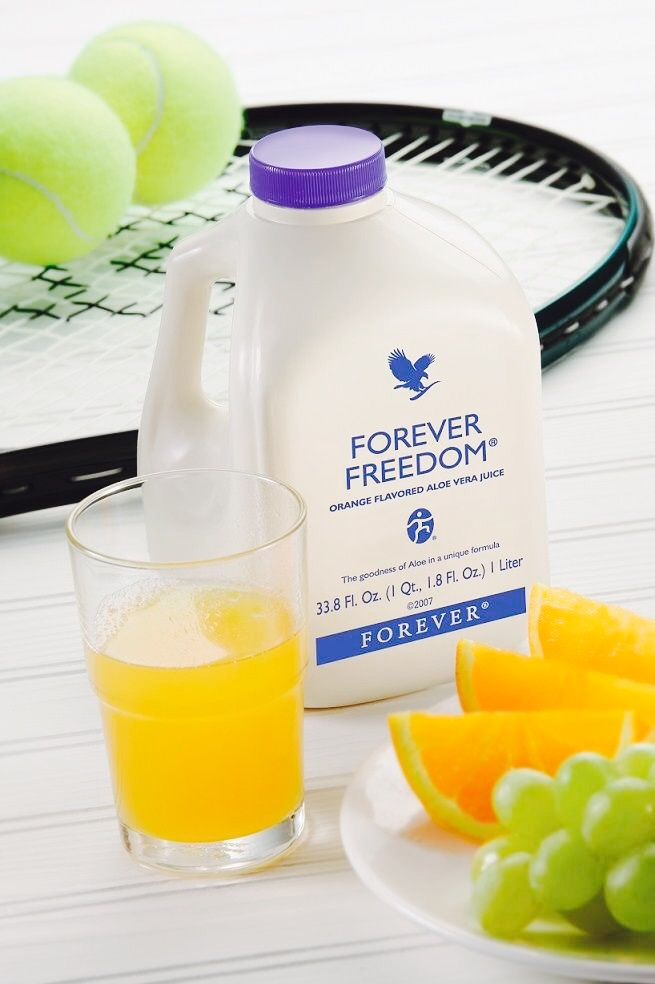 Start your day with the nutritious Forever Freedom drinking gel. 120ml has the equivalent effect of taking ibuprofen 4 times a day!
