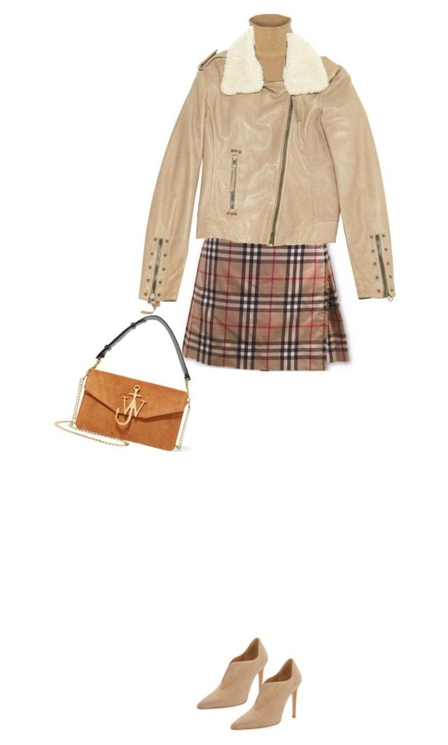 """""""Untitled #300"""" by juliet1995 ❤ liked on Polyvore featuring Burberry, JoosTricot, Pinko, Stuart Weitzman and J.W. Anderson"""