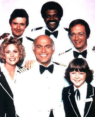 Love Boat. Ok I admit to watching this, so inappropriate and would not get passed for tv viewing now <3