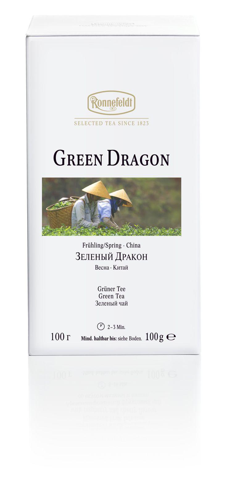Ronnefeldt White Collection - Green Dragon