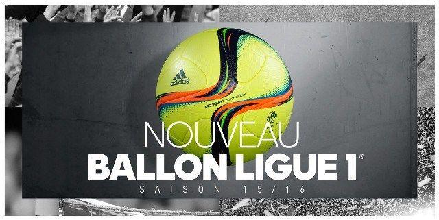 Un balón adidas fluorescente para la segunda parte de la Ligue 1