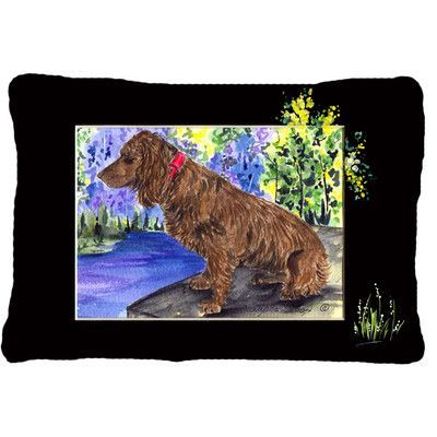 Caroline's Treasures Boykin Spaniel Indoor/Outdoor Throw Pillow