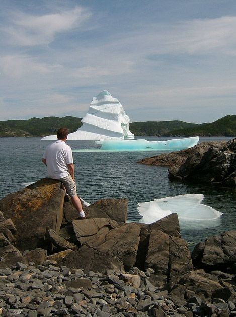 Next time we go, we're adding this to our Newfoundland bucket list! Iceberg watching