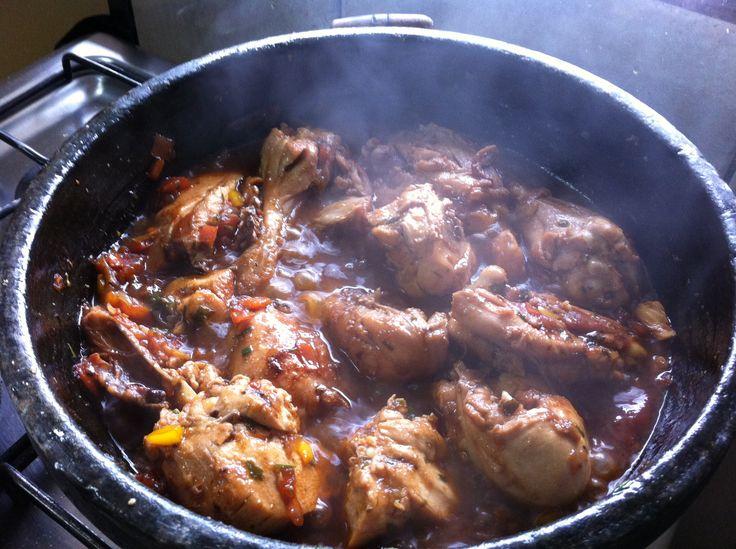 Brazilian food - Arroz com Galinha by my grandma :)