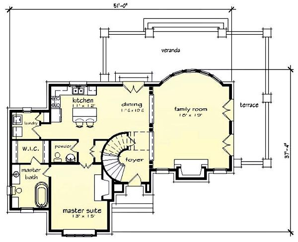 French Tudor House Plan Future Home Pinterest