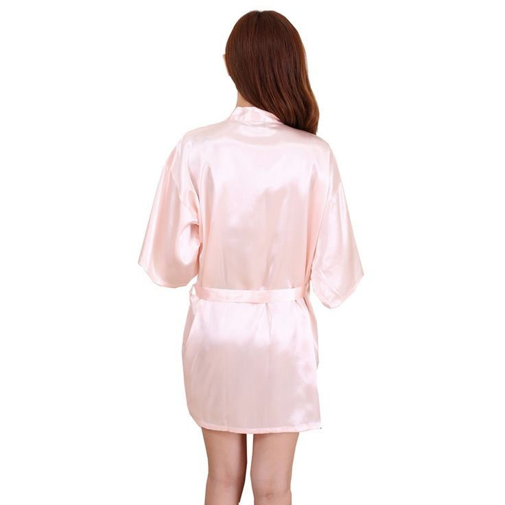 rb031 plus size bruid kimono badjas nachtkleding gewaad 2016 nieuwe chinese kimono badjassen voor vrouwen thuis bruidsmeisje jurk