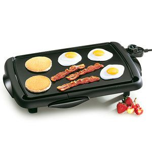 The best $20 gift anyone has ever given me! This griddle is perfect to use when surprising overnight guests with pancakes in the morning. Also, the non-stick surface is SUPER easy to clean!