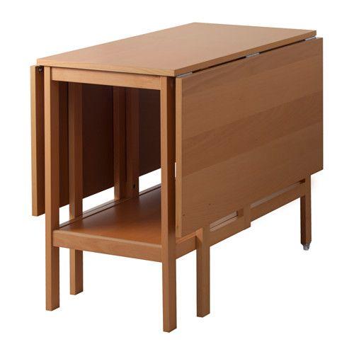 BARSVIKEN Tavolo con ribalte IKEA Il piano pieghevole ti permette di adattare la misura del tavolo alle tue esigenze.