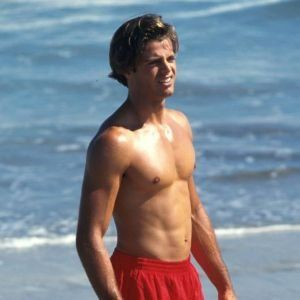 "David Charvet; ""Matt"" on ""Baywatch."""