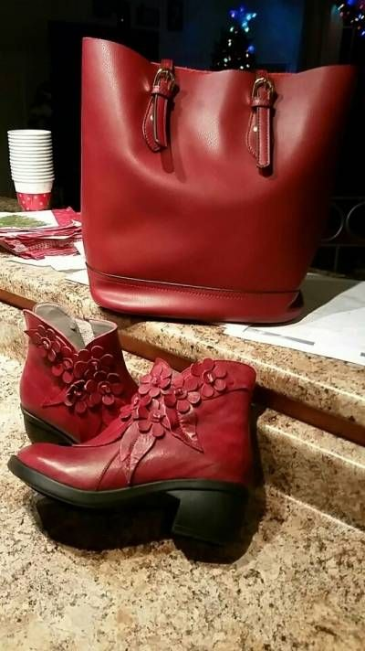 4416062c139cc Designer SOCOFY Sooo Comfy Vintage Handmade Floral Ankle Leather Boots -  NewChic Mobile
