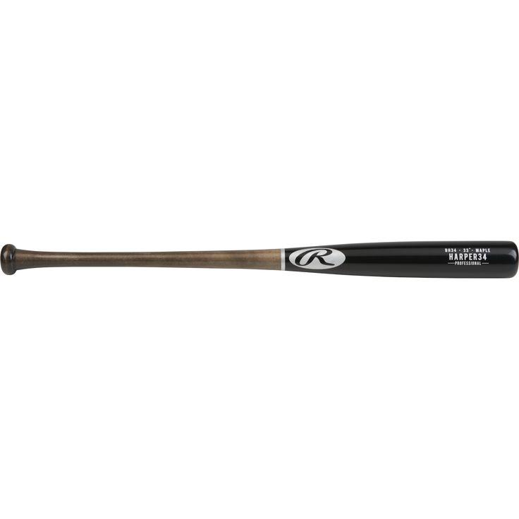 Rawlings Pro Label Maple Baseball Bat, Bryce Harper BH34