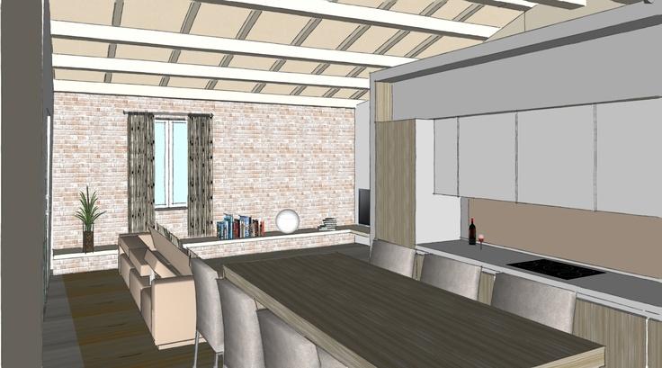 S-Home #kitchen #living