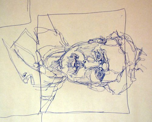 Blind Contour Line Drawing Face : Best blind contour drawing images on pinterest