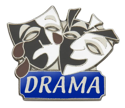 #WorldTheatreDay #Dramaface #Dramateachers #Pinbadges Buy from our online shop http://shop.mlbadges.com