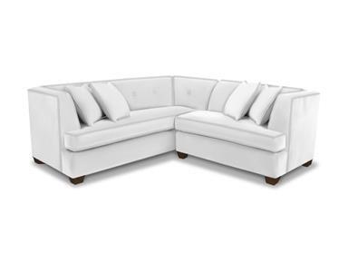 Bassett Living Room L Shaped Sectional   Furniture Showcase   Stillwater, OK