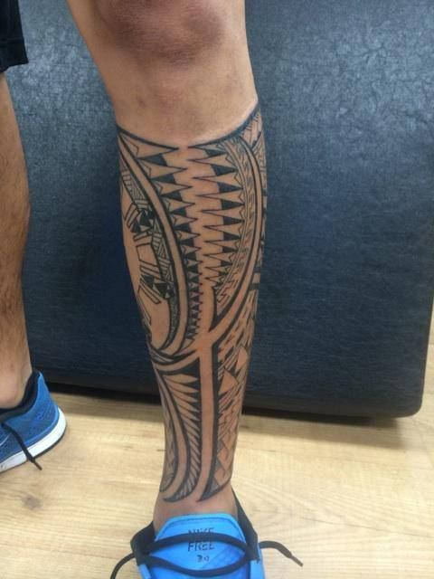 Don't see many of these on this sub. Here's my Polynesian tribal tattoo done at Humble Beginnings Tattoo - San Jose, CA. #polynesian #tattoo
